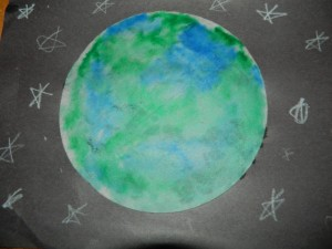 Earth day craft idea for kids