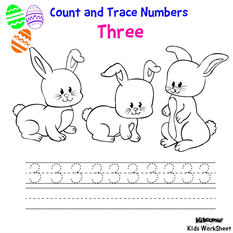 CraftsActvities and Worksheets for PreschoolToddler and Kindergarten – Number 3 Worksheets