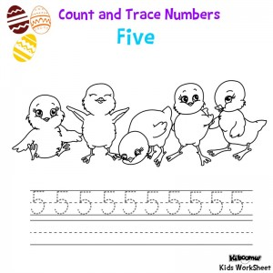 Count-and-Trace-Number-5-Easter-Worksheet2