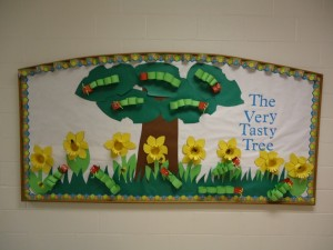 Cute spring Bulletin Board