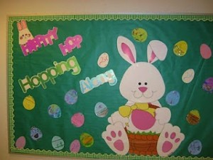 EASTER bulletin board 1