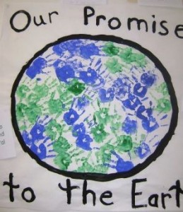 Earth Day Bulletin Board Display