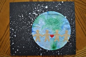 Earth Day Craft with Writing Prompt