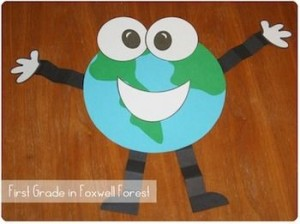 Earth day craft idea 1
