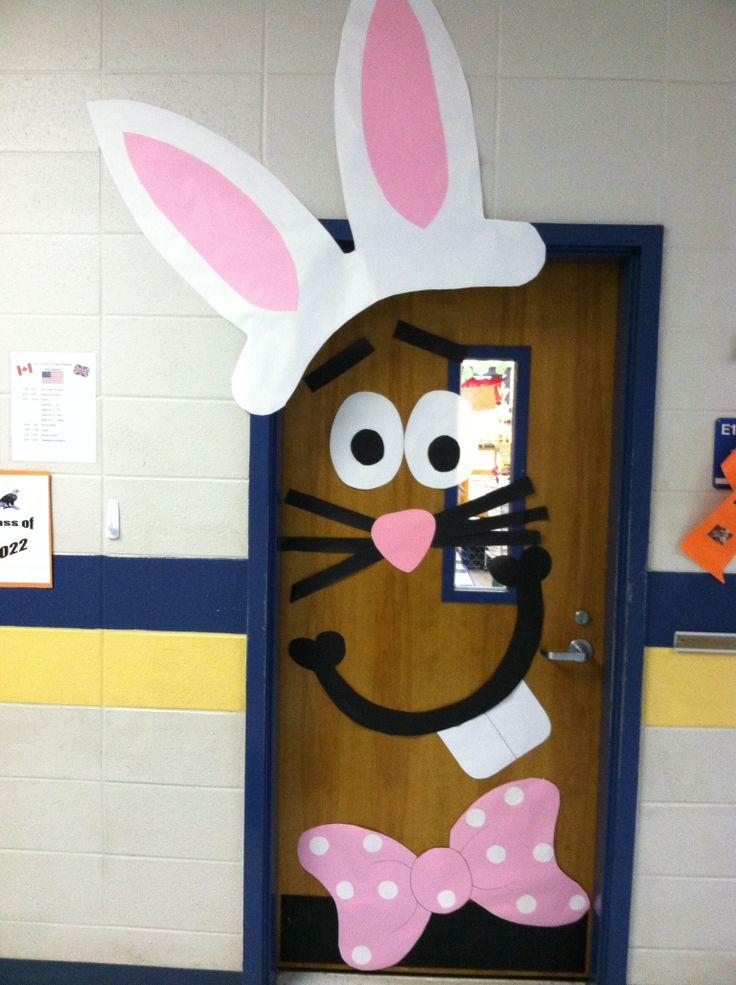 Easter Bunny door 1 & CraftsActvities and Worksheets for PreschoolToddler and Kindergarten pezcame.com