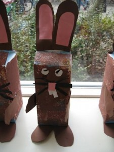 Easter Bunny juice box wrap