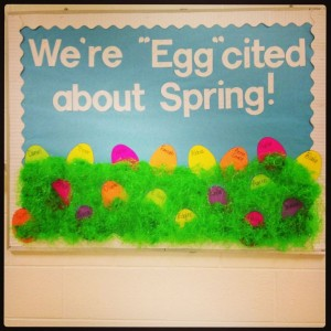 Easter-Spring Bulletin Board