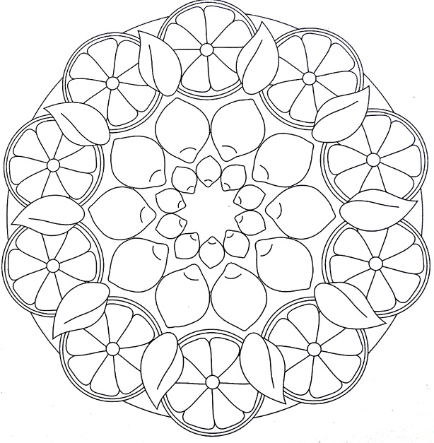 HD wallpapers mandala coloring pages for kindergarten