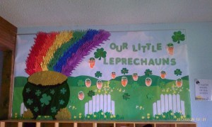 March bulletin board 1