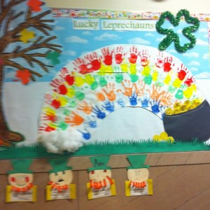 March bulletin board 7