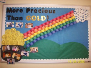 March bulletin board ideas