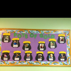 March bulletin boards for kids