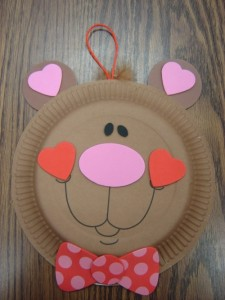 Paper Plate Bear Craft 1