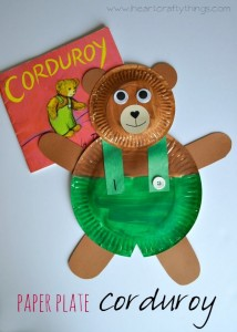 Paper Plate Bear Craft2