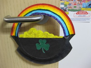 Paper Plate Pot of Gold for St. Patrick's Day 1