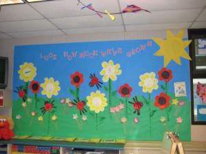 Spring bulletin board 15