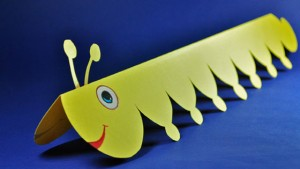 Stretchy Caterpillar craft
