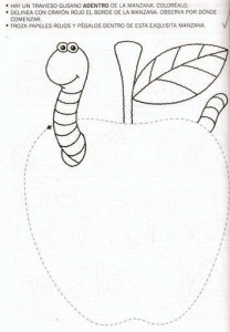 Fruit amp vegetable trace worksheet