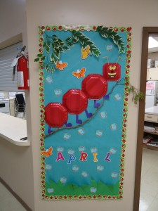 april bulletin board 1