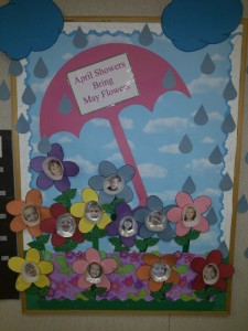 april bulletin boards