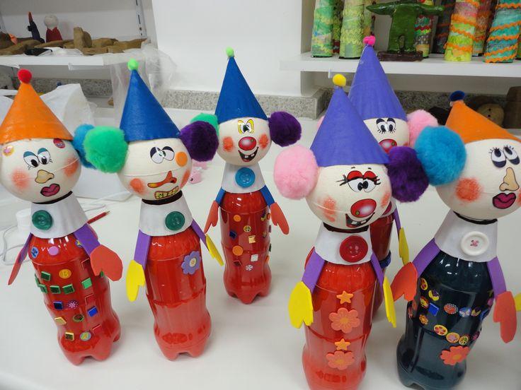 Clown Crafts For Preschoolers