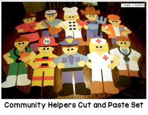 community helper crafts preschool