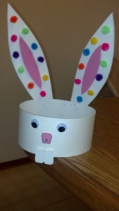 cone shapes bunny head band