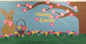 easter bulletin boards