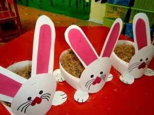 easter bunny basket craft (4)