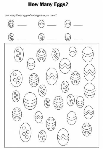 Collection Easter Worksheets For Preschool Pictures - The Miracle ...