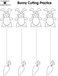 easter trace worksheet