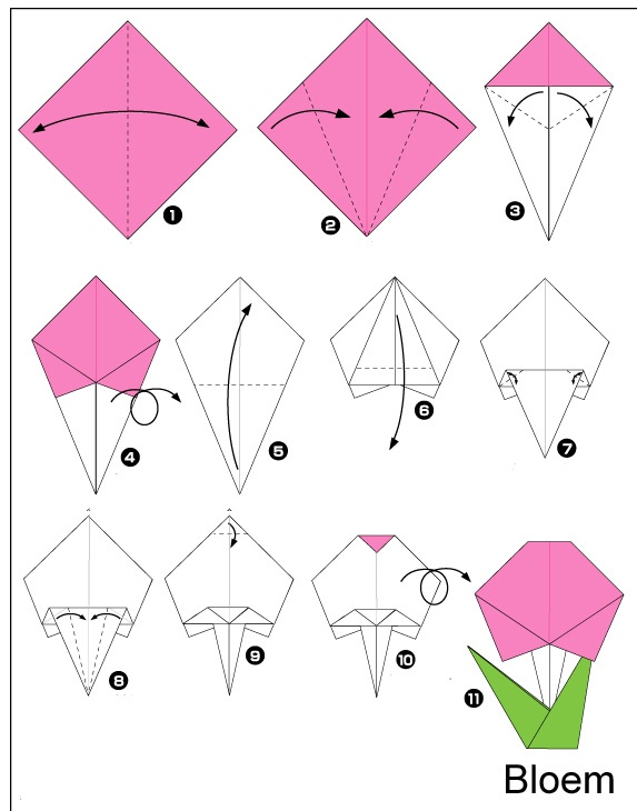 Easy Origami Craft For Kids Crafts And Worksheets For Preschool