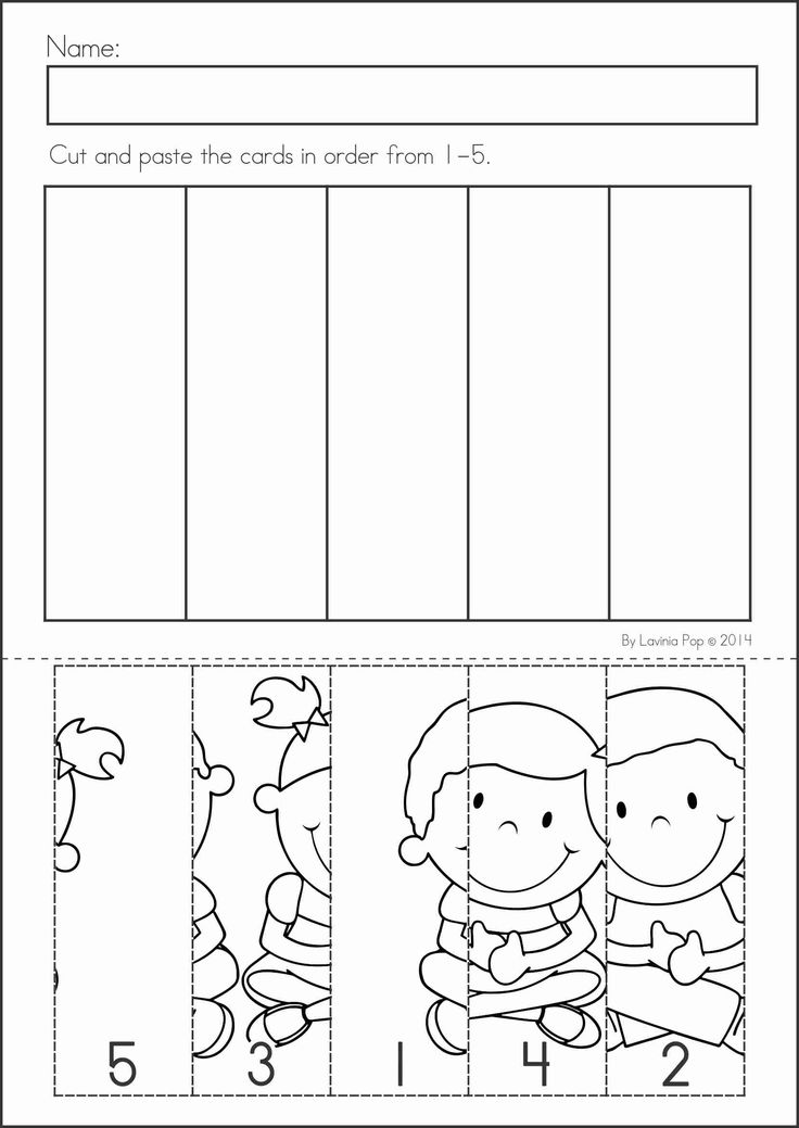 Kindergarten Easy Worksheets : Easy puzzle crafts for kids and worksheets