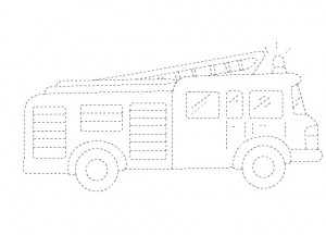 Transportations Trace Worksheet For Kids Crafts And