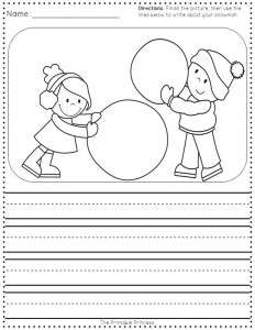 free winter trace line worksheet for kids (2)