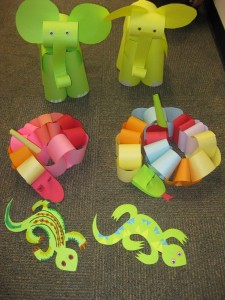 Jungle Animals Craft Idea For Kids Crafts And Worksheets