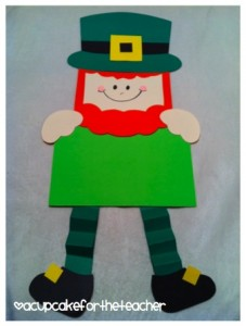 leprechaun craft writing prompt