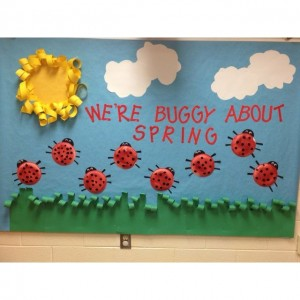preschool spring bulletin boards 1