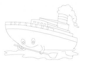 ship trace