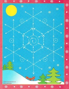 snowflake trace worksheet