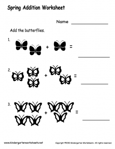 spring-addition-worksheet-printable