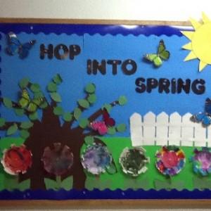 spring bulletin board 3