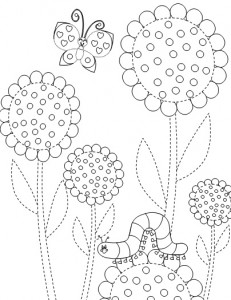 math worksheet : flower trace worksheet  crafts and worksheets for preschool  : Flower Worksheets For Kindergarten