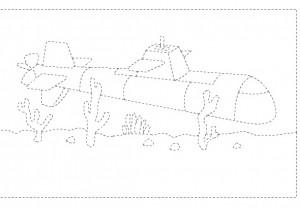 submarine trace