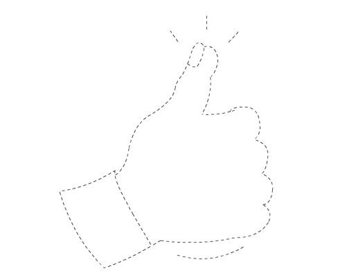 thumb trace
