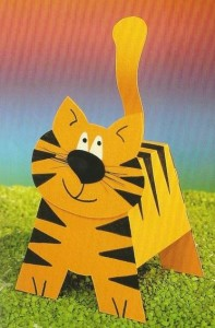 3d tiger craft