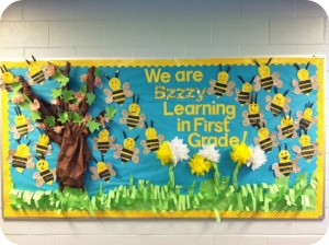 Bee bulletin board 2