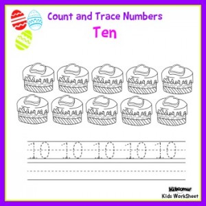 Count-and-Trace-Number-10-Easter-Worksheet1
