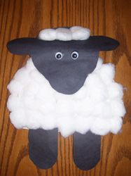 Sheep Paper Plate