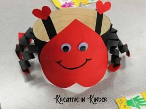 Valentine's love bug hats